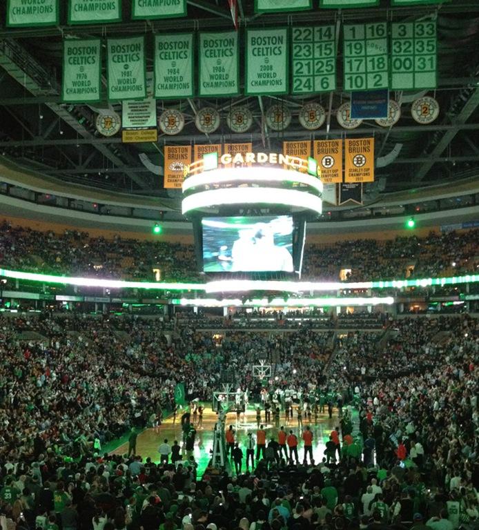 Celtics vs. Knicks at the TD Garden – Domestocrat
