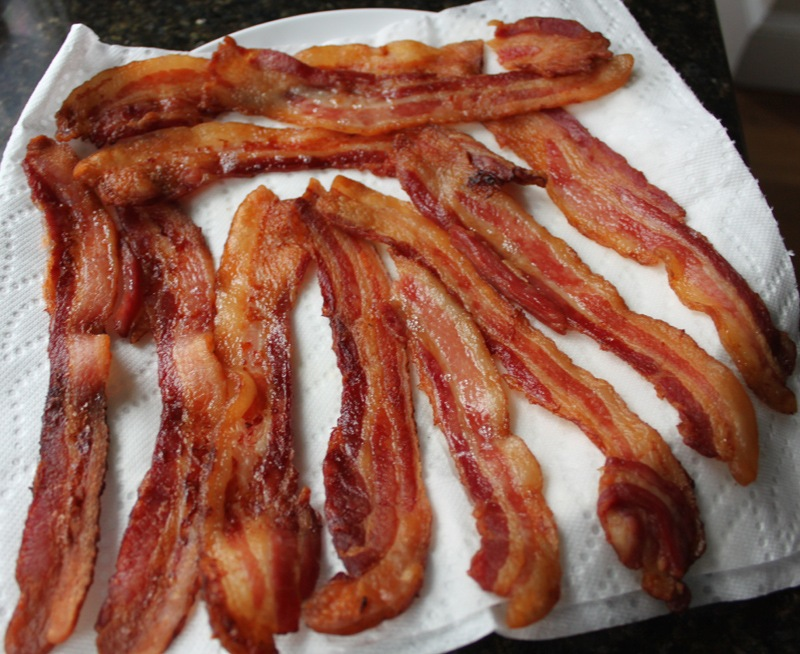 While The Bacon is Cooking