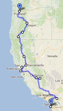 California To Oregon Road Trip Day 7 Fairfield Sacramento