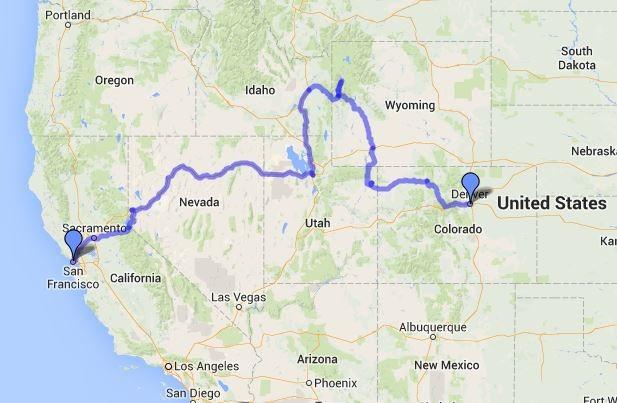San Francisco To Denver Road Trip Day 4 Nevada Amp Salt