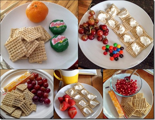 Simple Snack Cheese Crackers Fruit 2-14-2015
